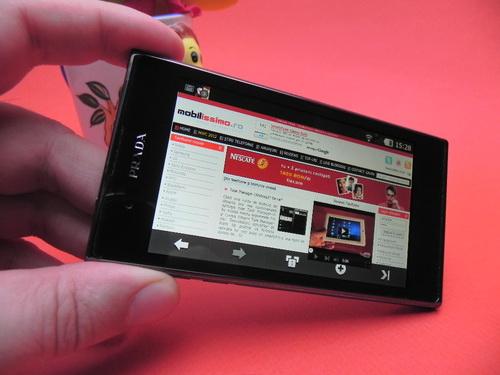 Recenzie LG Prada Phone 3.0