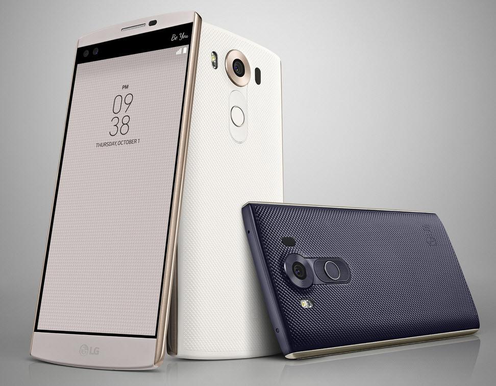 LG V10 disponibil spre vânzare de pe 8 octombrie  în Coreea de Sud, la preţul de 683 dolari