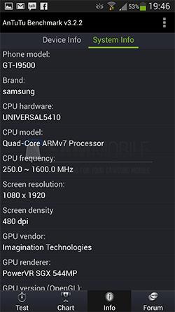 Samsung Galaxy S4 Învinge Galaxy S4 În duelul Exynos 5 Octa Snapdragon 600; Iată cine câștigă!