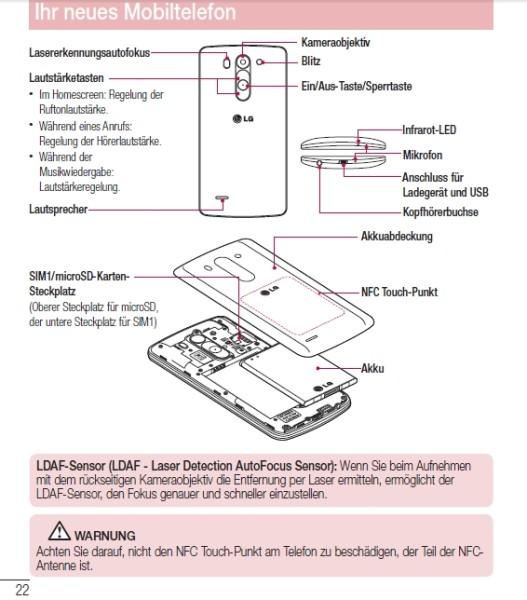 LG G3 S (G3 Mini) apare În imagini pe site-ul TENAA (Centrul de Certificare al Echipamentelor Electronice din China)