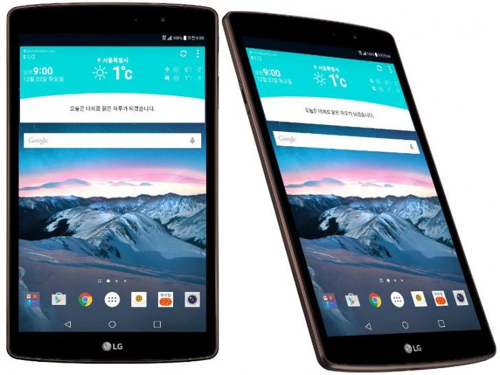 LG anunţă tableta LG G Pad II 8.3 LTE, cu procesor Snapdragon 615 la bord