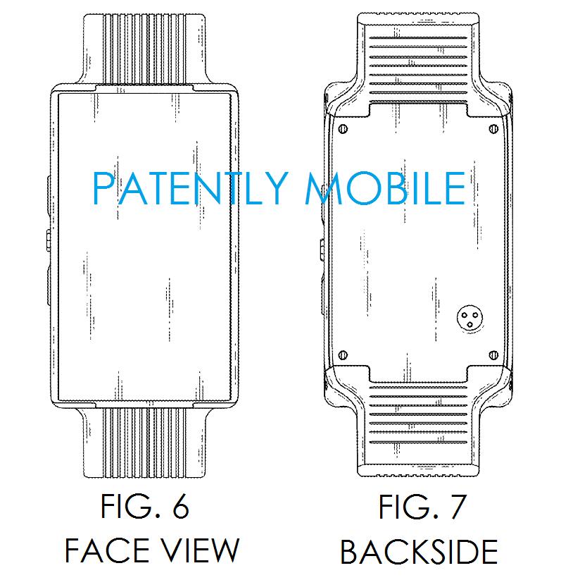 LG primește un brevet pentru un hibrid Între ceas și smartphone; Iată schițele oficiale!