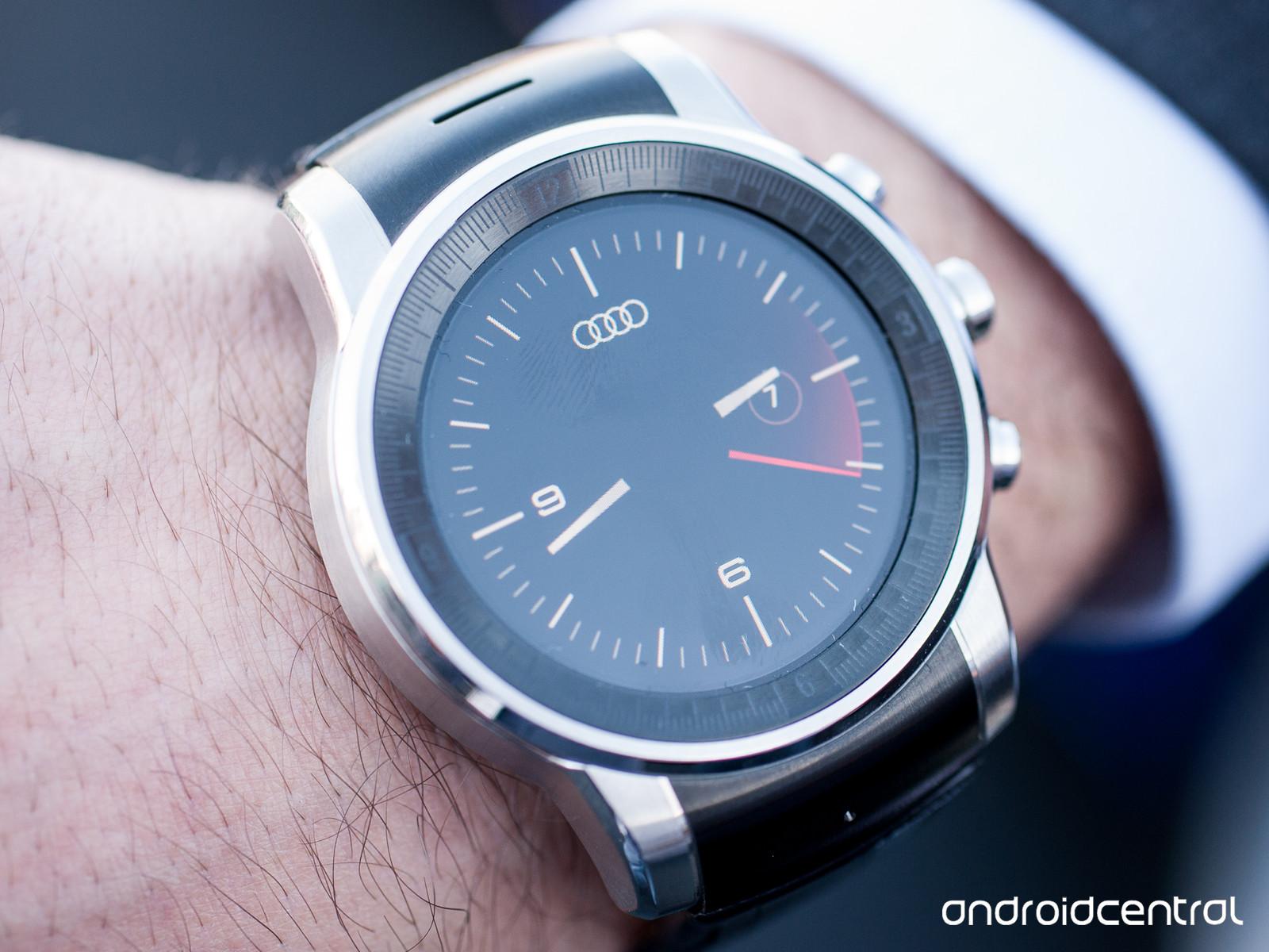 Smartwatch-ul misterios LG de la standul Audi rulează sistemul de operare WebOS!