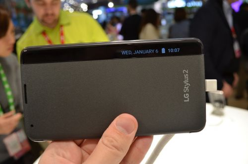 MWC 2016: LG Stylus 2 prezentare hands-on - phablet de buget cu display HD de 5.7 inch ce vine cu o husă inedită la pachet