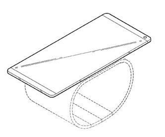 LG primeşte brevetul pentru un telefon flexibil ce devine brăţara/smartwatch