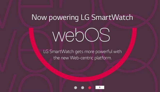 LG lucrează la un smartwatch cu webOS la bord; Iată dovezi