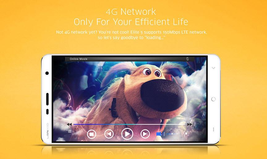 Leagoo Elite 4 este un telefon elegant cu încărcare rapidă şi 4G LTE, la preţ sub 80 de dolari