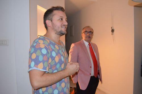 După ce Aurel Netin, director general Lenovo România și Mihai Sturzu (HIQ) au spus câteva cuvinte despre noile produse