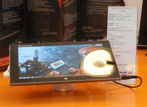 Lenovo a lansat pe plan local noua tabletă IdeaTab Miix 2 ce vine cu display Full HD de 10.1 inch și tastatură dock În pachet (Video)