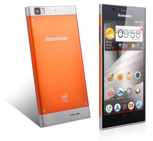 Lenovo K900 orange