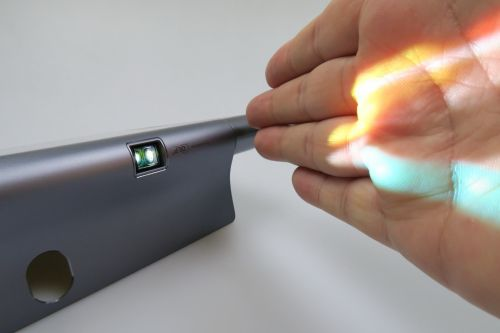 Proiectii cu Lenovo Yoga Tab 3 Pro