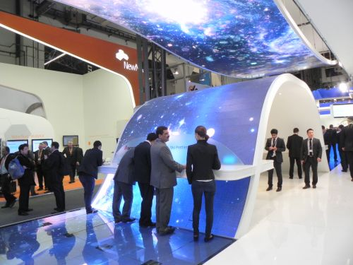 Stand Huawei MWC 2012