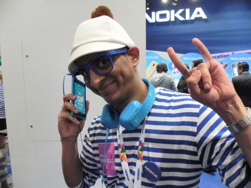 Standul Nokia din Barcelona