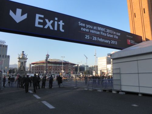 MWC 2012, exit...