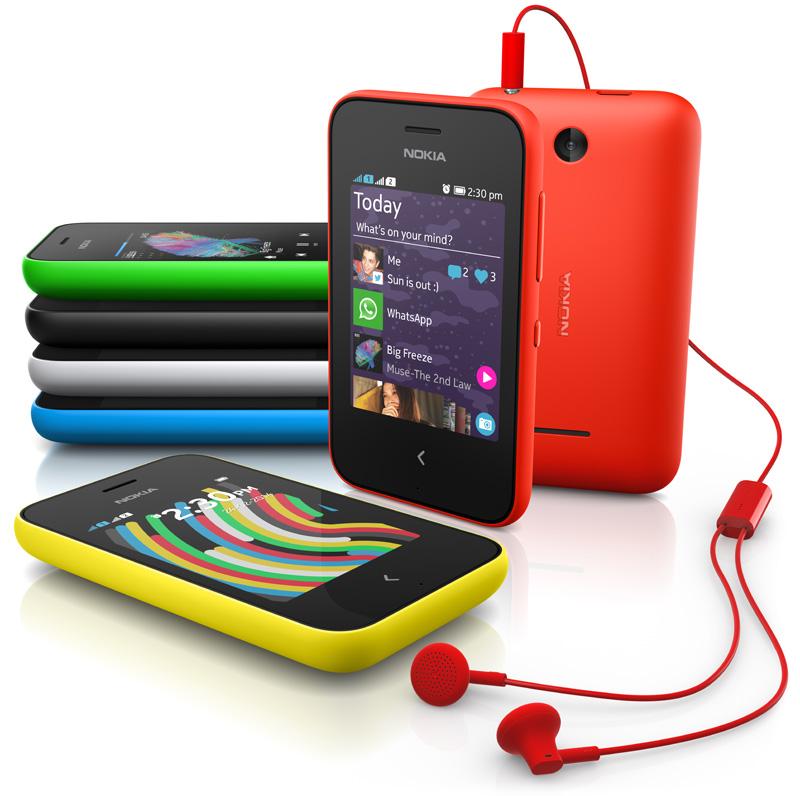 MWC 2014: Nokia anunță două noi terminale accesibile: Nokia 220 și Asha 230