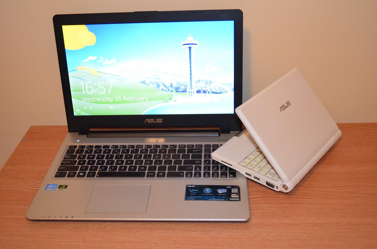 Nu va lipsi din pachet nici laptop-ul Asus K56C (procesor i7 + 4 GB RAM), cât și notebook-ul Asus Eee PC care va face upload al fișierelor cât timp voi vizita standurile pentru adunarea de noi materiale foto/video.