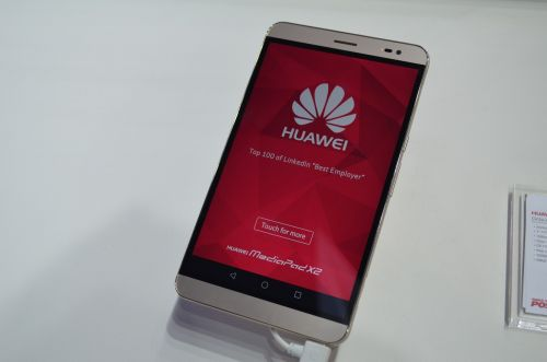 MWC 2015: Huawei MediaPad X2 hands on - mega telefonul cu design în stil HTC One (Video)