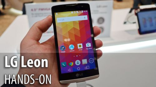 MWC 2015: LG Leon hands-on - telefon low end cu Lollipop, design atractiv (Video)