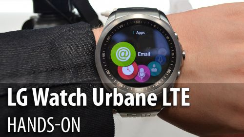 MWC 2015: LG Watch Urbane LTE hands-on - design premium şi webOS cu un UI carusel (Video)