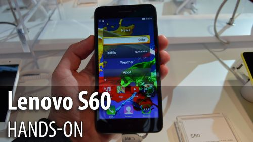 MWC 2015: Lenovo S60 hands-on - clonă de iPhone 6 cu procesor 64 bit şi ecran de 5 inch (Video)
