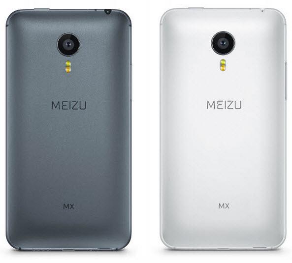 Telefon Meizu cu noul logo