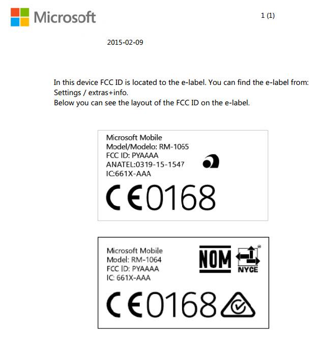 Lumia 1330/Lumia 1335 este primul telefon Lumia cu suport dual SIM/LTE, primește certificarea oficială FCC