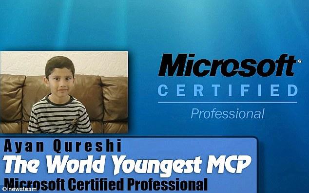 Specialist În computere la doar 5 ani: Ayan Qureshi trece de examenul de Certificare Microsoft Windows (Microsoft Certified Professional)