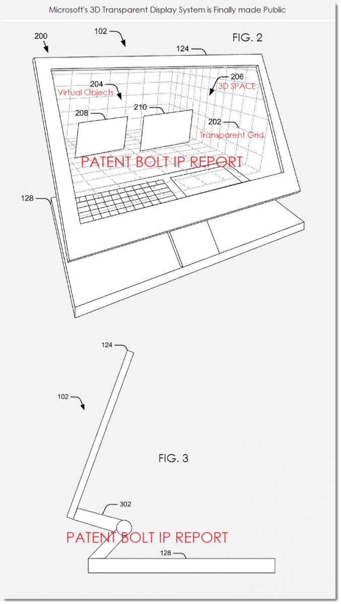 Microsoft brevetează un sistem de display 3D interactiv, bazat pe camere În stil Kinect (Video)