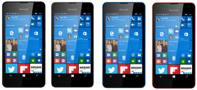 Microsoft Lumia 550 îşi face apariţia în randări ce reprezintă diferite variante de culori; Îi aflăm și dotările și un posibil preț