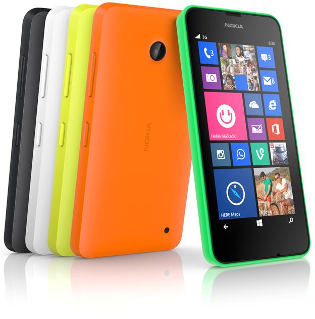 Nokia Lumia 630 și Luumia 63