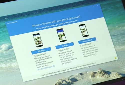 Microsoft anunţă Cortana pentru iOS şi Android, plus o aplicație companion Windows 10