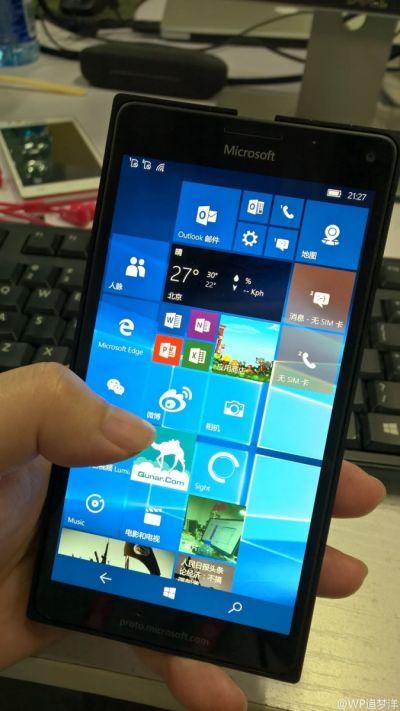 Microsoft Lumia 940/950 XL se dezvăluie în imagini hands on detaliate; Camera Pureview iese în relief