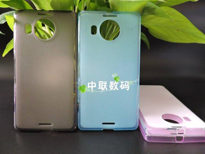 Primele huse neoficiale pentru Microsoft Lumia 950 şi Lumia 950 XL apar în China