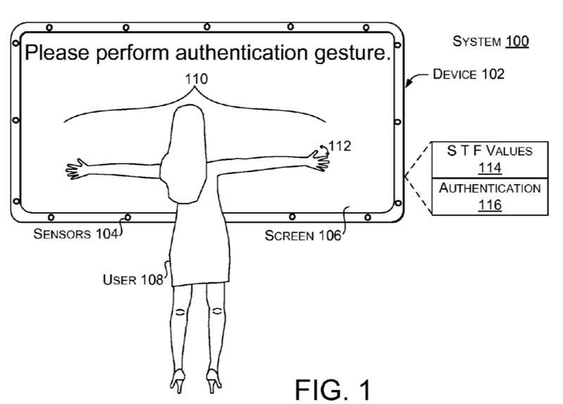 Microsoft brevetează o nouă modalitate de deblocare a terminalului mobil prin gesturi unice pentru fiecare utilizator
