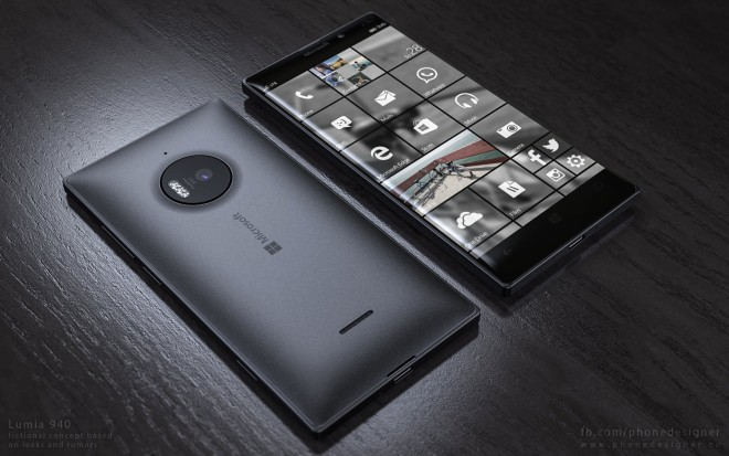 Microsoft Lumia 940 primeşte o galerie de randari excelent realizate de designerul Jonas Daehnert