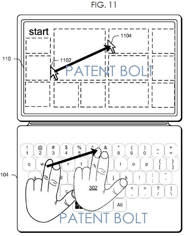 Microsoft brevetează controlul prin gesturi pentru viitoare tastaturi