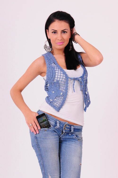 Andreea Pop - MobiGirl LG optimus 2X