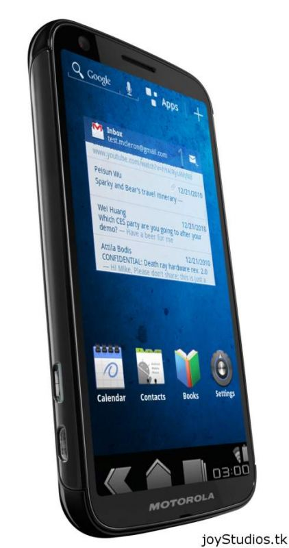 Motorola Bee, primul terminal mobil non-tabletă care rulează Android Honeycomb?