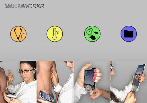 Telefon medical de la Motorola? Motoworkr, doar un concept deocamdată