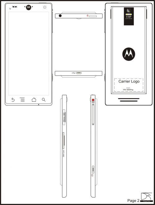 Concept Motorola Droid 3 ?