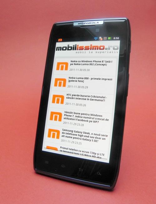 Aplicatia Mobilissimo.ro pentru Android