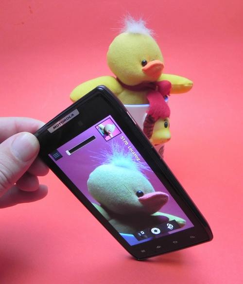 Camera lui Motorola Droid RAZR