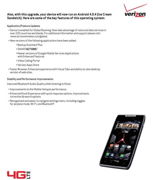 Motorola Droid RAZR și RAZR MAXX primesc actualizările la Android 4.0 ICS