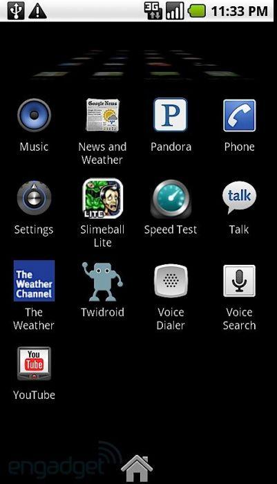 Motorola Droid Android 2.1