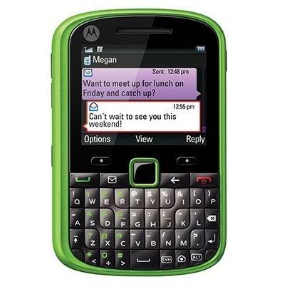 "Motorola Grasp WX404, inca un telefon ""verde"" stilat"
