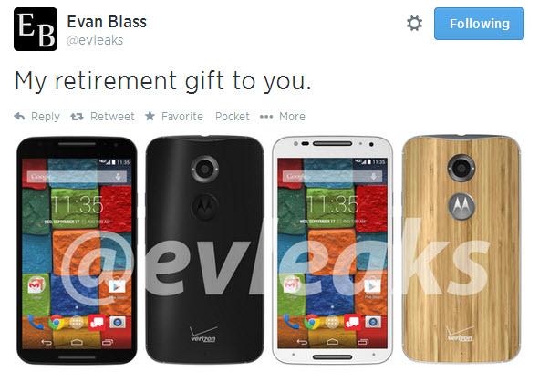 Motorola Moto X+1 apare În cele mai clari imagini de până acum - cadou de despărțire de @evleaks