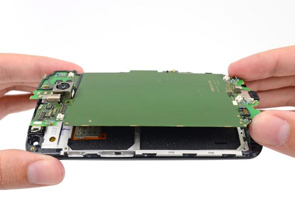 Motorola Moto X dezasamblat