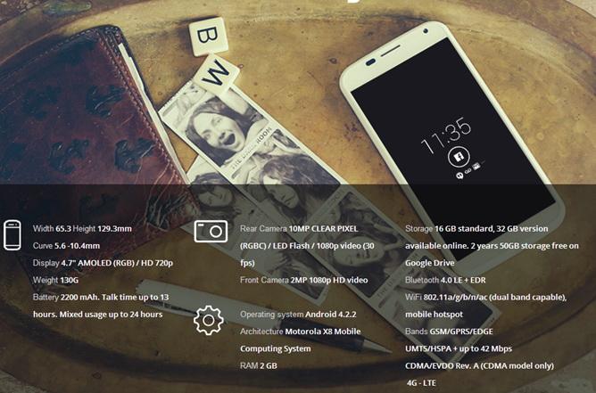Motorola Moto X anuntat oficial