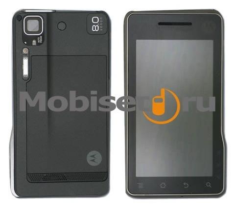Tabletul Motorola Sholes XT701