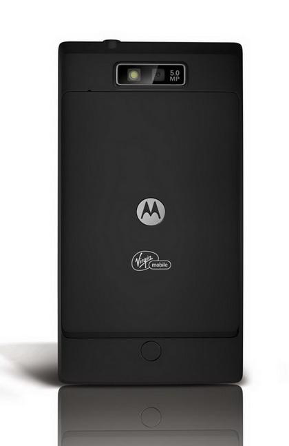Motorola Triumph back